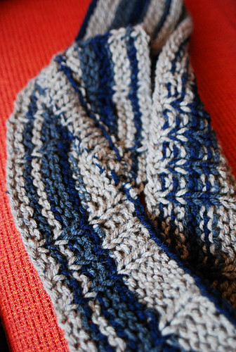 knit with recycled spun yarn