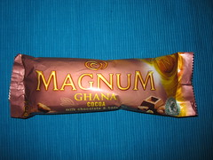 Langnese Ghana Cocoa (Like_the_Grand_Canyon) Tags: ice am sweet chocolate cream creme eis popsicle stiel