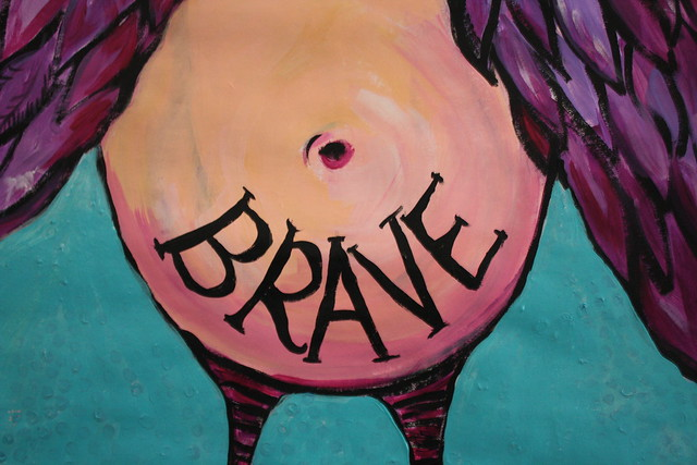 FEARLESS™  Painting for Jessie (detail)