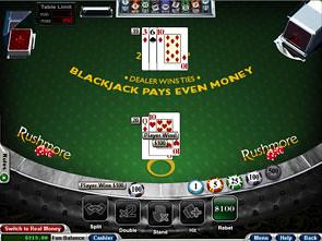 Face Up 21 Blackjack game
