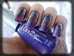 Grape (Panvel) + Espectral (BU) (Our Nails) Tags: grape espectral panvel biguniverso