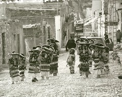 Young Matachine Dancers - Real de Catorce San Luis Potosi, Mexico (1coffeelady) Tags: mexico matachines dancer travel vacation ethnic culture people blackwhitephoto realdecatorcesanluispotosi indigenos children matachinedancer aztecas aztec indios indigenas realdecatorce huicholes huichol wirikuta gente