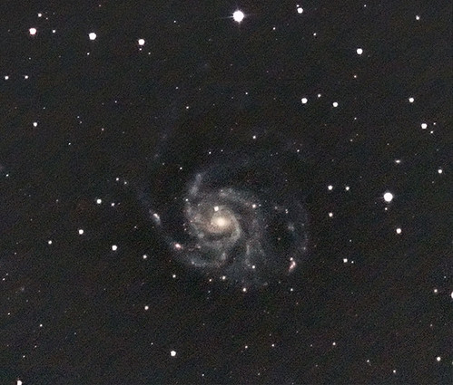 M101 - The Pinwheel Galaxy (closeup)
