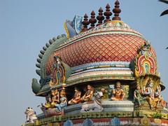 Thirupalaivanam Gajaprushta vimanam (Avanibhajana) Tags: india art heritage architecture temple worship colourful tradition shiva hindu tamilnadu southindia chola vimana tamilculture thirupalaivanam thirupalainathar gajaprushta