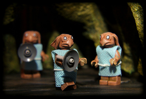 Custom minifig Finished Sea Devils!