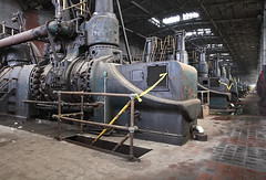 steel90 (mANVIL) Tags: mill abandoned industry factory conversion steel blowing demolition gas engines