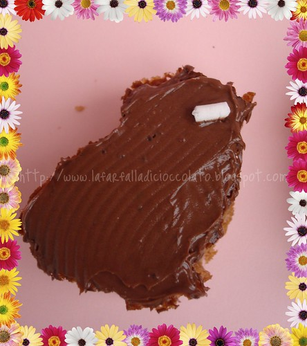 Muffin Pasquali al cioccolato al latte