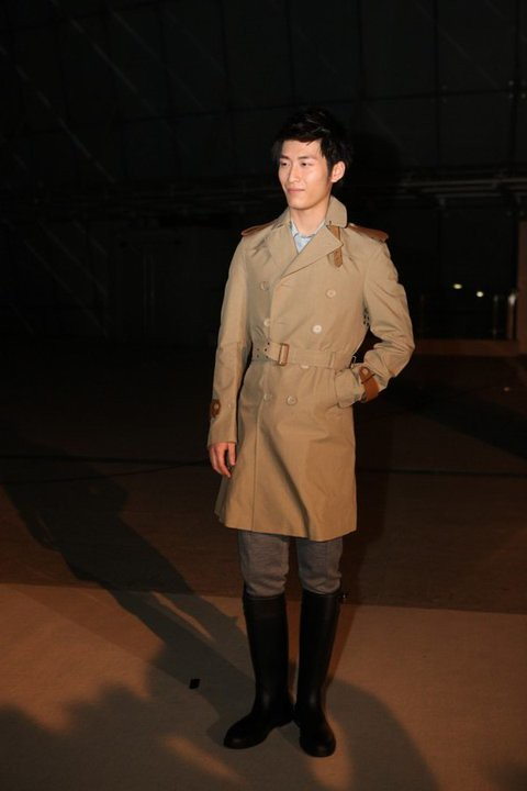 018 Chinese actor Xiao Dou wearing Burberry