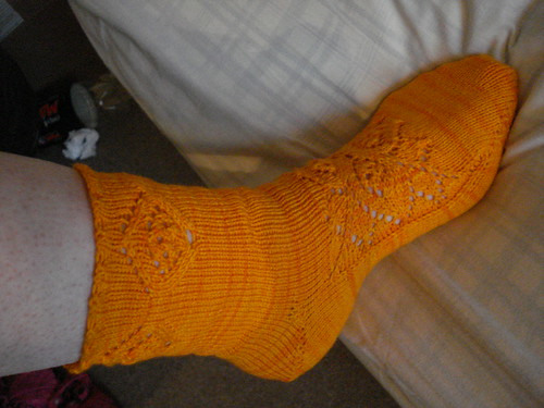 gruen ist die hoffnung van der linden interesting sock construction