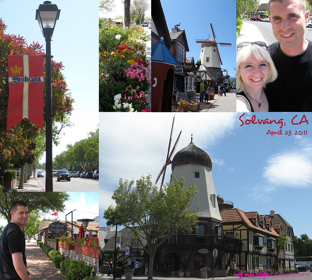 Solvang CA Collage 1
