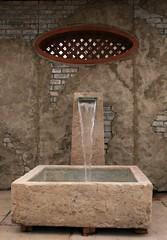 Fountain (Read2me) Tags: she brown water fountain gamewinner challengeyouwinner 3waychallengewinner thechallengefactory yourock1stplace pregamesweepwinner ispywinner pregameduelwinner
