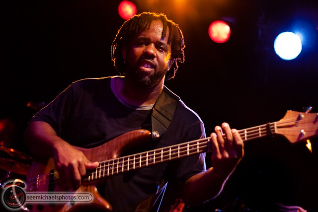 Victor Wooten at Belly Up 41811 © Michael Klayman-035
