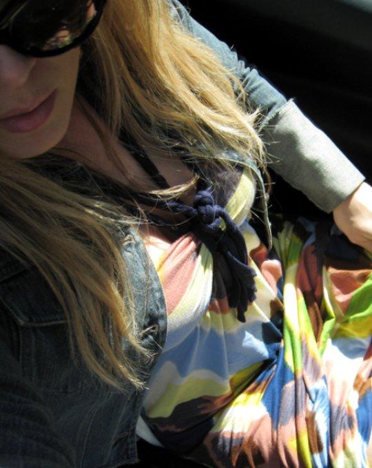 multi-color ikat maxi dress+denim jacket-4-og