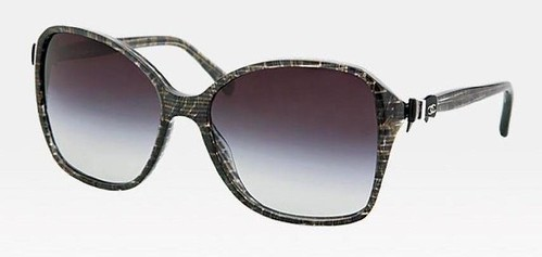 Chanel sunglasses in tweed