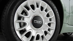 2012 FIAT 500 Lounge 15 inch Aluminum Wheel