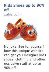 Zulily Facebook Ad