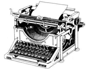 Typewriters in India: A Matter of Form(s)