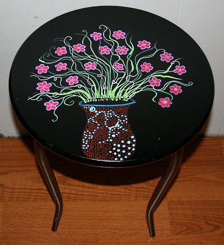 Accent Table by Rick Cheadle Art and Designs