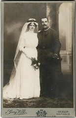 Wedding couple, Berlin, c. 1900