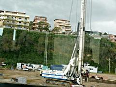 Il primo cantiere del Ponte (antonello_mangano) Tags: noponte cantierecannitello