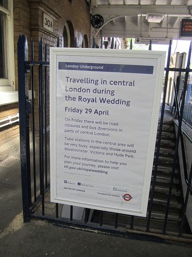Royal Wedding Travel Advice