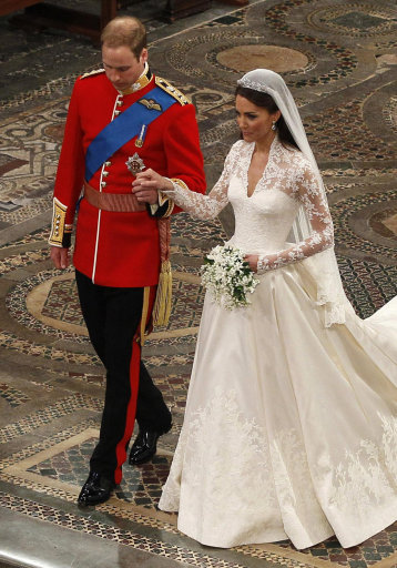 Royal Wedding Kate & William The Service