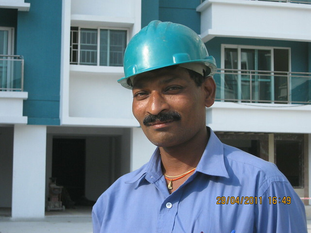 Mr. Mohan Kambale, Safety In-charge,  Sangria Towers at Megapolis Hinjewadi Phase 3, Pune