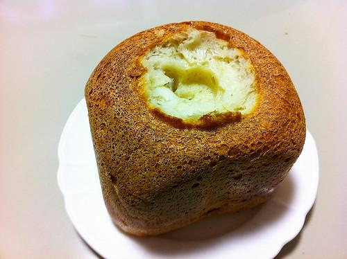 米パン羽根取ってみた。