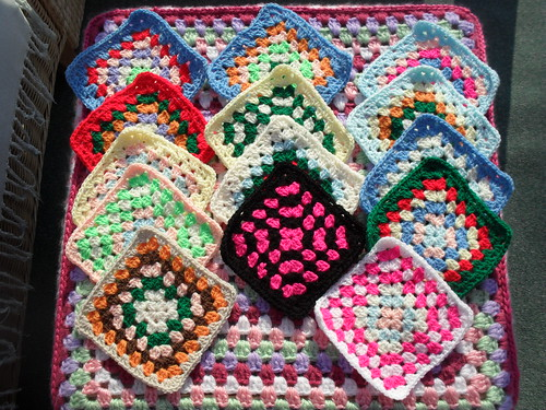 Shirley B (Norway) Your Squares arrived today! Thank You!