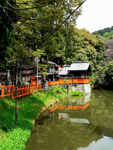 pond behind Fushimi-inari Taisha Grand Shrine