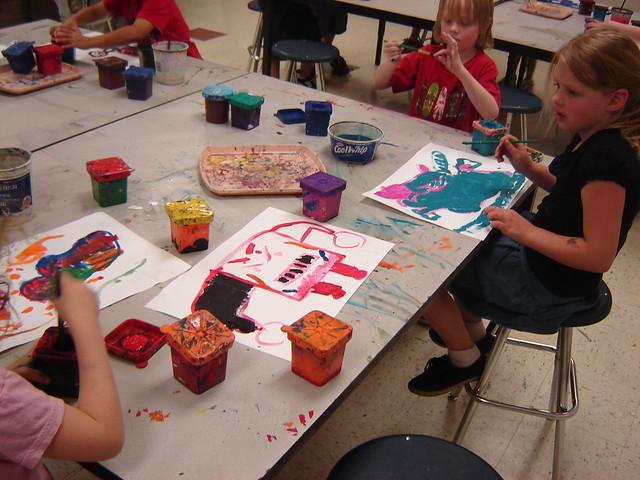 Teaching Art To Kiddos