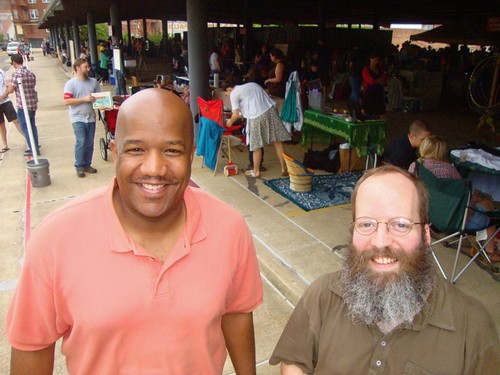 David Aubrey, Kern Courtney, Texas Ave Maker's Fair, Spring 2011 by trudeau