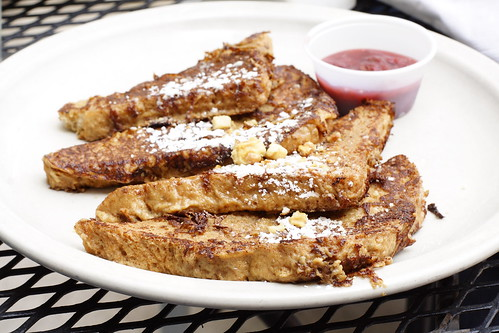 French Toast and Raspberry Jam