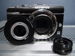 Pentax Auto110 - m4/3 Adapter