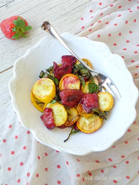 Fragole e zucchine