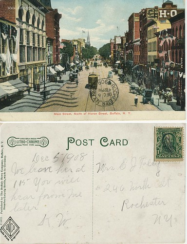 Buffalo Main Street - 1908
