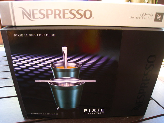 Nespresso Pixie Lungo Fortissio cups & Limited Edition Onirio Coffee