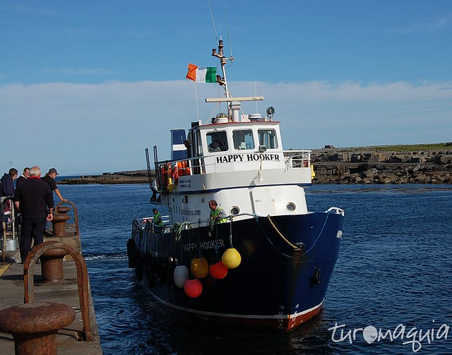 Barco Ilhas Aran - Irlanda