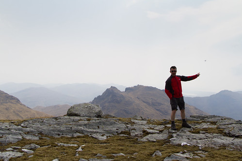 Ian on Beinn Ime