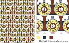 estampa relogios seriado (rapporte) Tags: patterndesign rapporte textilledesign estampariacorrida estampariarotativa desenhodeestampas estampasavenda desenhosparaestamparia