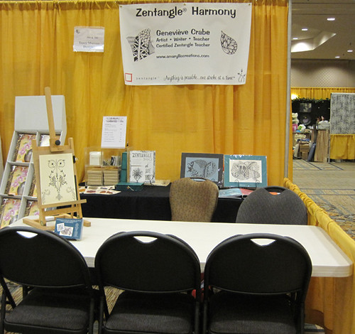 My booth