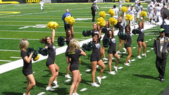 """""""umm ... Yay ... We're Excited!"""" (A.F.Pretty) Tags: game oregon football spring university cheerleaders yay excited eugene were autzen 2011"""