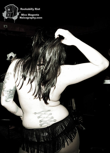 Miss Magenta - Rockabilly Riot - April 30th 2011 - 07