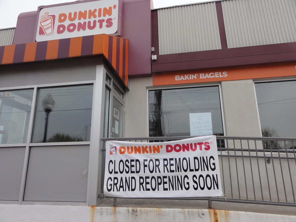 Remolding at Dunkin' Donuts