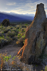 Turn Around, Look At Me (James Neeley) Tags: california sunset mountains hdr easternsierras alabamahills 5xp jamesneeley