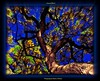 Autumn Bloom (Butterfly724) Tags: blue autumn sky tree art leaves digital leaf artwork colorful artistic surrealism bloom trunk gnarly limbs oaktree twisted soe enhanced crystalaward theunforgettablepictures rubyphotographer thebestgallery