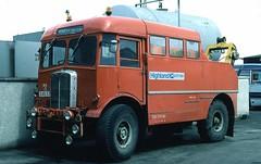 highland - highland aec h5 inverness depot 81 JL (johnmightycat1) Tags: bus scotland aec highlandomnibuses