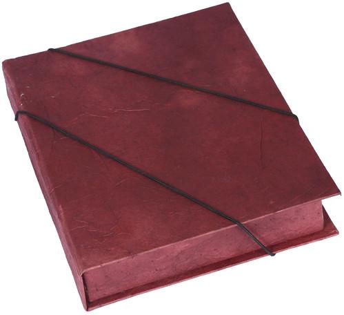Caixa Livro com Saco de Cimento Reciclado by PARANOARTE