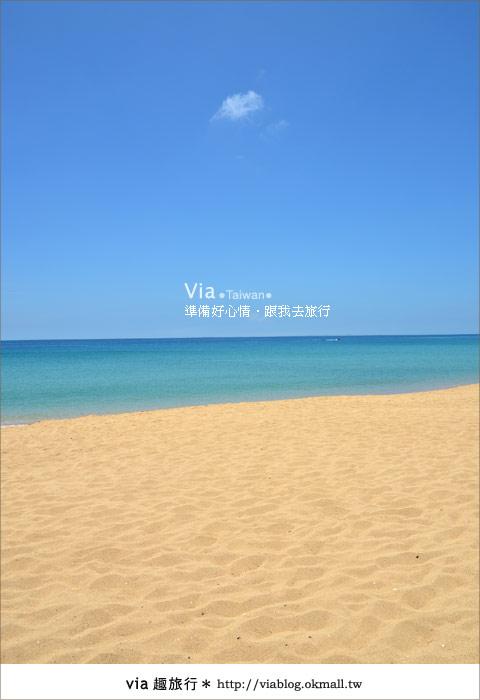 【澎湖沙灘】山水沙灘,遇到菊島的夢幻海灘!17