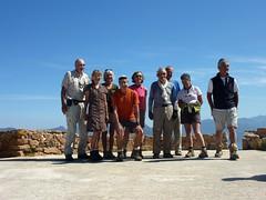 Boucle de la tour de Turghju : photo de groupe au sommet de la tour